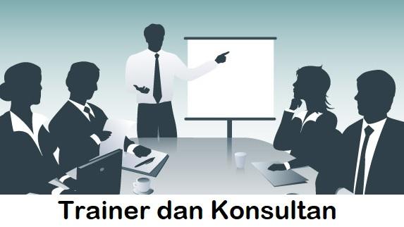 Trainer dan Konsultan