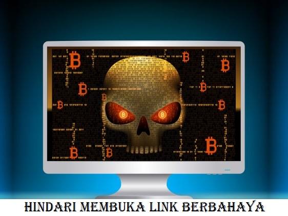 Hindari Membuka Link Berbahaya