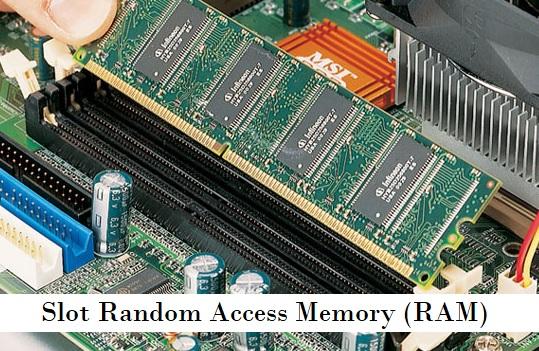 Slot Random Access Memory (RAM)